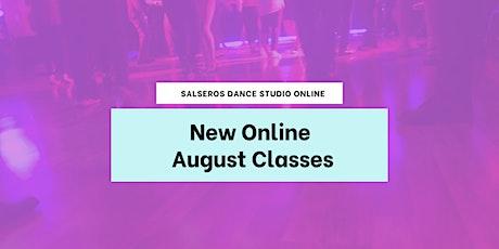 Salsa & Bachata Online Classes - August 2020 tickets