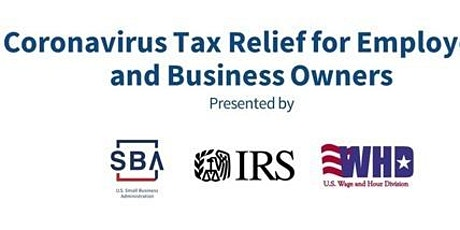 Coronavirus Tax Relief for Employers and Business Owners with SBA tickets
