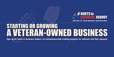 Boots 2 Business Reboot- 2 Day Webinar tickets