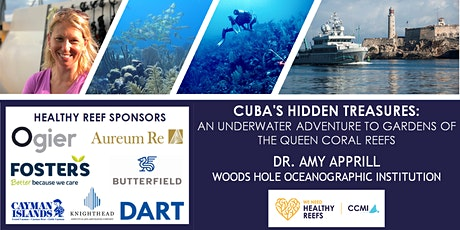 Reef Lecture-Cuba's Hidden Treasures tickets