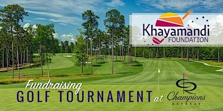 Khayamandi Foundation Golf Tournament at Champions Retreat tickets