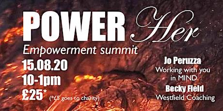 POWER HER Online Empowerment Summit tickets