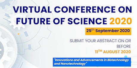 Virtual Conference on Future of Science 2020 (SciCon 2020) tickets