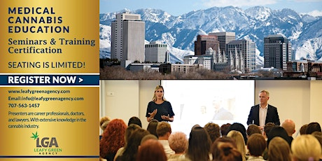 Utah Medical Marijuana Dispensary Training Seminar- Salt Lake City tickets