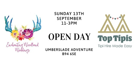 Tipi Woodland Wedding Open Day tickets
