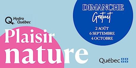 DIMANCHE GRATUIT AUX JARDINS DE MÉTIS | REFORD GARDENS FREE SUNDAY ! billets