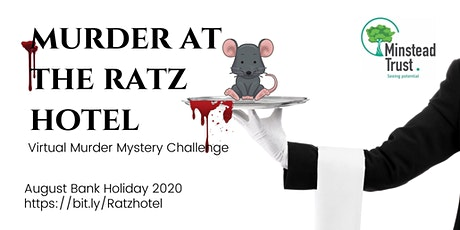 Murder at the Ratz Hotel -A Virtual murder mystery charity challenge tickets