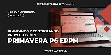 Curso de Oracle Primavera P6 EPPM  |  A distancia (duración: 16 horas) boletos