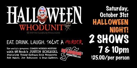 """Halloween Whodunit"" - A Murder Mystery Comedy Show // 7PM SHOW tickets"