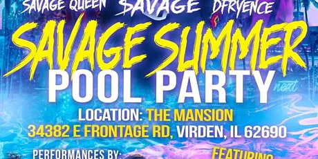 Savage Summer Pool Party tickets