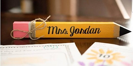 Teacher Workshop | Pencil Nameplate tickets