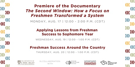 """Premiere of the Documentary """"The Second Window"""" and Accompanying Webinars tickets"""