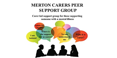 Merton MH carers peer support group tickets