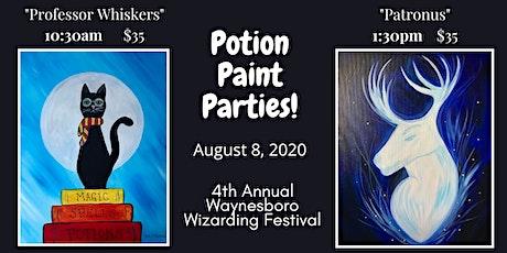 Waynesboro Wizarding Weekend Potion Paint Parties tickets