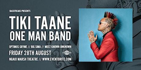 Tiki Taane - One Man Band - Christchurch tickets