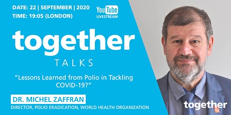 """""""Lessons Learned From Polio in Tackling COVID-19?"""" with Dr Michel Zaffran ingressos"""