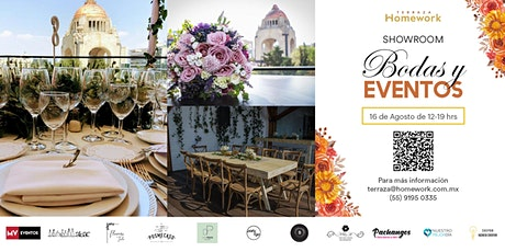 Terraza Homework Showroom: Bodas y eventos - 16 AG entradas