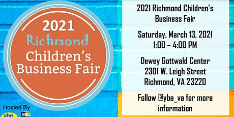 2021 Richmond Children's Business Fair tickets