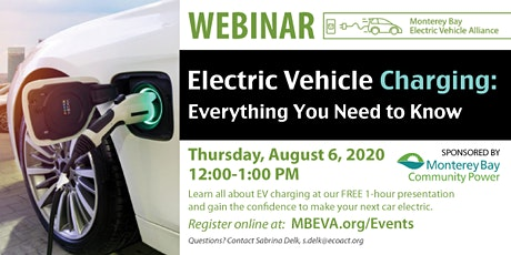 Electric Vehicle Charging: Everything you need to know tickets