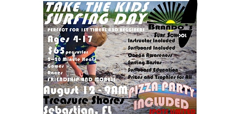 Take The Kids Surfing Day - Aug 12 tickets