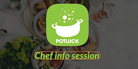 Potluck Chef Info Session (Free & Virtual) tickets