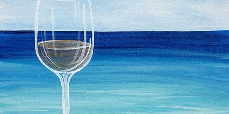 Beach Wine Glass Painting tickets