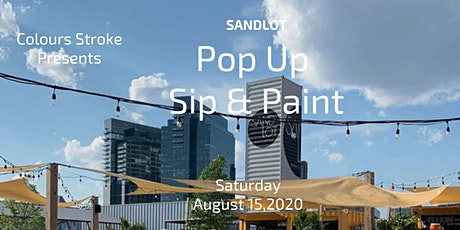 Sandlot Sip and Paint tickets