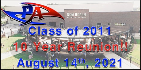 10 Year Reunion: PAHS Class of 2011 tickets