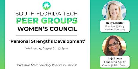 WOMEN'S PEER GROUP | 'Personal Strengths Development' tickets