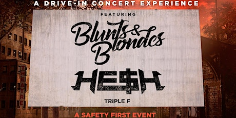 Blunts & Blondes, HE$H & Triple F @ The Alameda County Fairgrounds tickets
