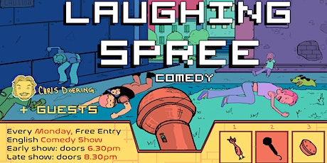 FREE ENTRY English Comedy Show - Laughing Spree 31.08. - LATE SHOW Tickets