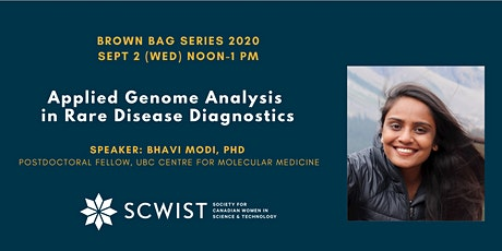 Brown Bag: Applied genome analysis in rare disease diagnostics tickets