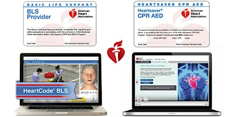 Fall 2020 CPR/AED Blended Learning tickets