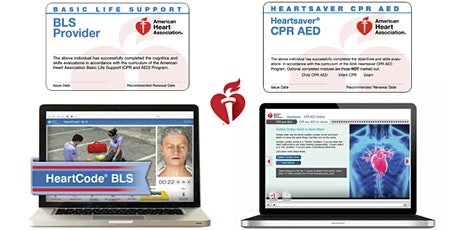 Fall 2021 CPR/AED Blended Learning tickets