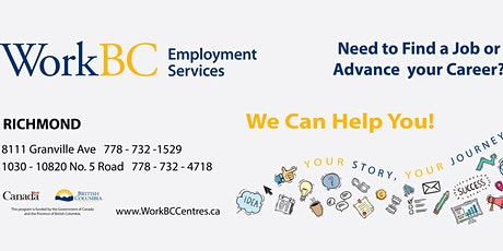 Virtual Employer Info Session with S.U.C.C.E.S.S. Multi-Level Care Society tickets