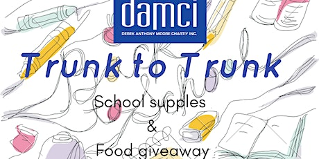 Trunk to Trunk School Supplies & Food Giveaway tickets