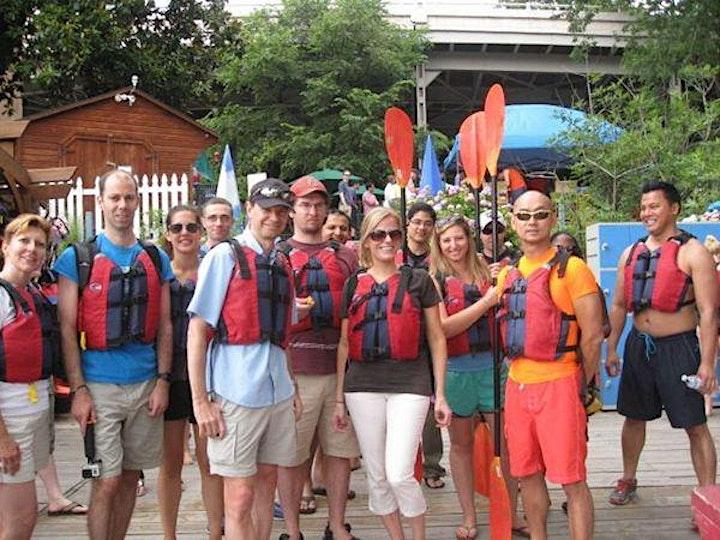Kayaking + Fun image