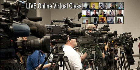 Media Relations & On-Camera Training - Virtual Class - Online Nationwide tickets