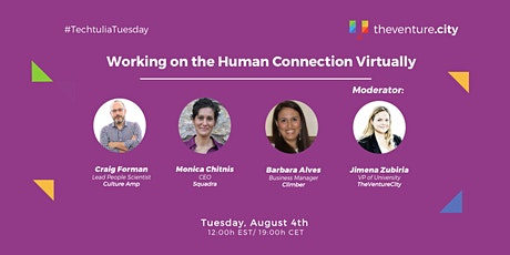 Working on the Human Connection Virtually tickets
