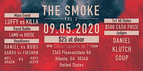 """THE SMOKE VOL.2 tickets"