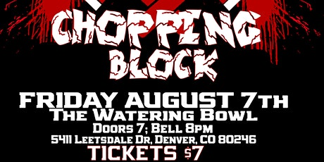 Primos Presents: The Butcher Shop Chopping Block tickets