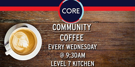 CORE Community Coffee tickets