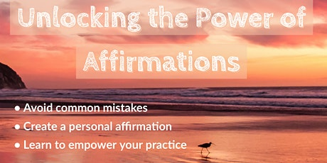 Unlocking the Power of Affirmations tickets