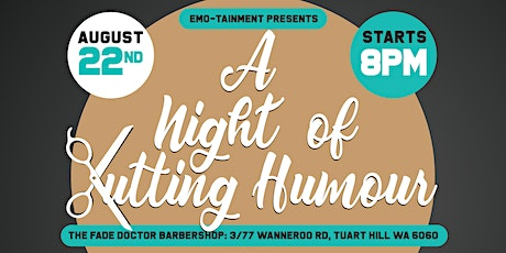 Emo-tainment Presents A Night Of Cutting Humour tickets