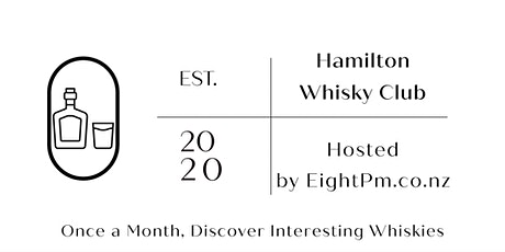 Hamilton Whisky Club - Hosted by Eight Pm tickets