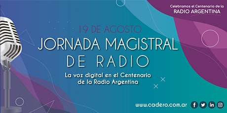 Jornada Magistral de Radio 2020 boletos