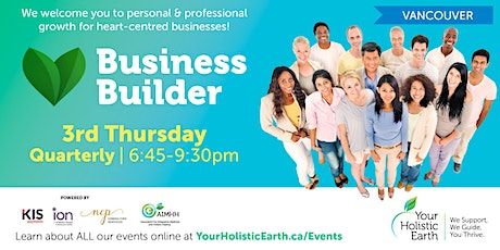 Vancouver's YHE November Business Builder tickets