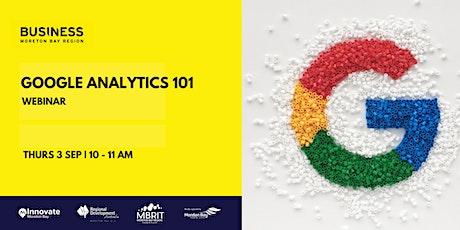Business Workshop: Google Analytics 101 tickets