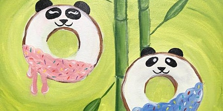 Super FUN Paint class 'Sweet Panda Donuts' At Donut Life Museum tickets