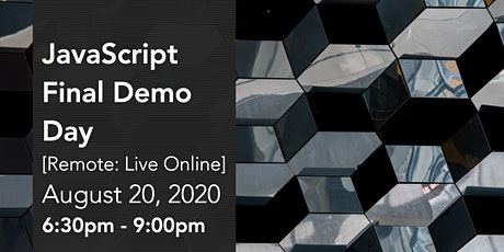 JavaScript Final Presentations tickets